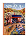 The New Yorker Cover - October 4, 1941 Premium Giclee Print by Ilonka Karasz