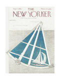 The New Yorker Cover - September 3, 1955 Giclee Print by Ilonka Karasz
