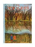 The New Yorker Cover - December 1, 1945 Regular Giclee Print by Ilonka Karasz