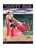 Vanity Fair Cover - August 1925 Regular Giclee Print by Miguel Covarrubias