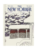 The New Yorker Cover - February 7, 1983 Giclee Print by Arthur Getz