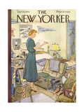 The New Yorker Cover - September 10, 1955 Regular Giclee Print by Perry Barlow
