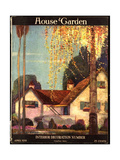 House &amp; Garden Cover - April 1918 Giclee Print by Porter Woodruff