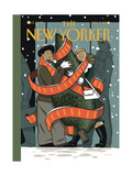 The New Yorker Cover - December 7, 2009 Reproduction proc&#233;d&#233; gicl&#233;e par Jan Van Der Veken