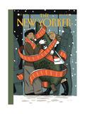 The New Yorker Cover - December 7, 2009 Regular Giclee Print von Jan Van Der Veken