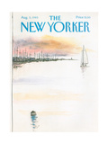 The New Yorker Cover - August 5, 1985 Regular Giclee Print by Arthur Getz