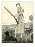 Vogue - August 1930 Regular Giclee Print by René Bouét-Willaumez
