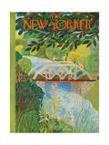 The New Yorker Cover - June 17, 1950 Regular Giclee Print by Ilonka Karasz