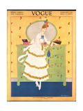 Vogue Cover - February 1915 Regular Giclee Print by Helen Dryden