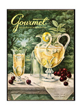Gourmet Cover - June 1956 Giclee Print by Hilary Knight