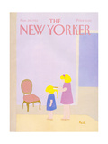 The New Yorker Cover - November 24, 1986 Regular Giclee Print by Heidi Goennel