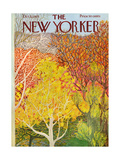The New Yorker Cover - October 22, 1973 Giclee Print by Ilonka Karasz
