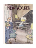 The New Yorker Cover - November 12, 1955 Giclee Print by Perry Barlow