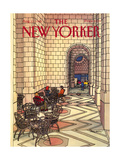 The New Yorker Cover - August 12, 1985 Giclee Print by Roxie Munro