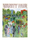 Vanity Fair Cover - August 1934 Regular Giclee Print av Raoul Dufy