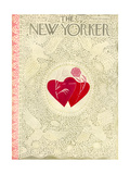 The New Yorker Cover - February 16, 1952 Regular Giclee Print by Ilonka Karasz
