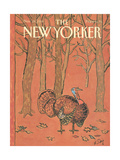The New Yorker Cover - November 28, 1988 Regular Giclee Print by William Steig