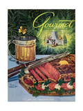 Gourmet Cover - June 1949 Regular Giclee Print by Henry Stahlhut