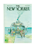 The New Yorker Cover - July 23, 1979 Regular Giclee Print par Charles Saxon