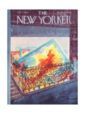The New Yorker Cover - February 3, 1962 Regular Giclee Print by Anatol Kovarsky