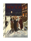The New Yorker Cover - December 23, 1933 Regular Giclee Print by Helen E. Hokinson