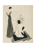 Vogue - January 1933 Regular Giclee Print by R.S. Grafstrom