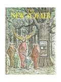 The New Yorker Cover - May 7, 1990 Giclee Print by Edward Koren
