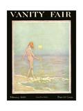 Vanity Fair Cover - February 1920 Regular Giclee Print by Warren Davis