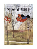 The New Yorker Cover - November 26, 1966 Giclee Print by Charles E. Martin
