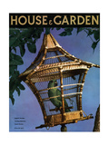 House & Garden Cover - August 1936 Regular Giclee Print by Anton Bruehl