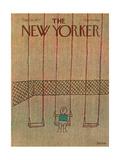 The New Yorker Cover - September 26, 1977 Regular Giclee Print by Robert Tallon