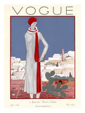 Vogue Cover - January 1926 Regular Giclee Print by Georges Lepape