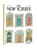 The New Yorker Cover - July 16, 1979 Regular Giclee Print by Laura Jean Allen