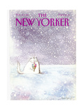 The New Yorker Cover - February 8, 1988 Giclee Print by Ronald Searle