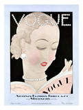 Vogue Cover - September 1926 Regular Giclee Print by Georges Lepape
