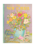 The New Yorker Cover - May 25, 1981 Regular Giclee Print by Jenni Oliver