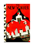 The New Yorker Cover - October 10, 1925 Premium Giclee Print by Ilonka Karasz