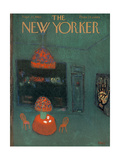 The New Yorker Cover - September 22, 1962 Premium Giclee Print by Robert Kraus