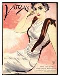 "Vogue Cover - September 1933 Regular Giclee Print by Carl ""Eric"" Erickson"