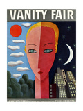 Vanity Fair Cover - August 1930 Giclee Print by Miguel Covarrubias