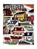 House & Garden Cover - August 1939 Regular Giclee Print by Robert Harrer