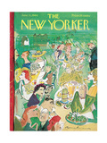 The New Yorker Cover - June 11, 1960 Giclee Print by Ludwig Bemelmans