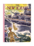 The New Yorker Cover - April 7, 1945 Regular Giclee Print by Leonard Dove