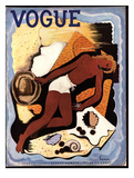 Vogue Cover - June 1933 Giclee Print by Georges Lepape
