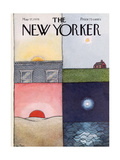 The New Yorker Cover - May 17, 1976 Regular Giclee Print by Pierre LeTan