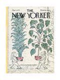 The New Yorker Cover - May 5, 1975 Giclee Print by Edward Koren