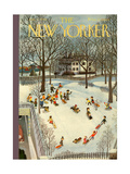 The New Yorker Cover - January 31, 1948 Regular Giclee Print by Charles E. Martin