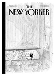 The New Yorker Cover - March 21, 2005 Reproduction procédé giclée par Jean-Jacques Sempé