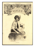 Vogue Cover - August 1906 Giclee Print by Walter Briggs