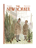 The New Yorker Cover - December 16, 1972 Regular Giclee Print by Frank Modell